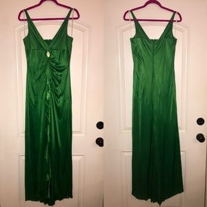 Dresses & Skirts - Emerald Green Formal Gown